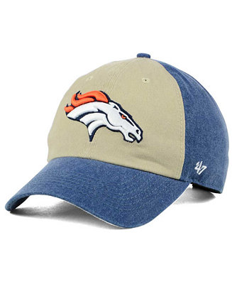 94746d81c37c60 '47 Brand Denver Broncos Summerland CLEAN UP Cap - Sports Fan Shop By Lids  - Men - Macy's