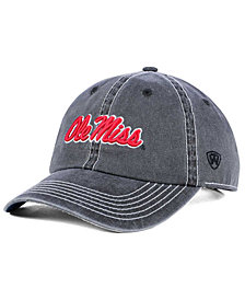 Top of the World Ole Miss Rebels Grinder Adjustable Cap