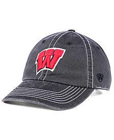 Top of the World Wisconsin Badgers Grinder Adjustable Cap