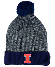 Nike Illinois Fighting Illini Heather Pom Knit Hat