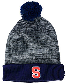 Nike Syracuse Orange Heather Pom Knit Hat