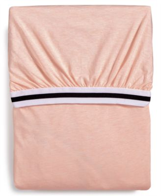 Harrison Pink Twin Fitted Sheet