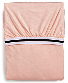 Calvin Klein Modern Cotton Harrison Pink Twin Fitted Sheet