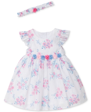 Little Me Whimsical Floral-Print...