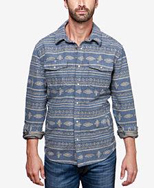Lucky Brand Men's Aztec Flannel Shirt