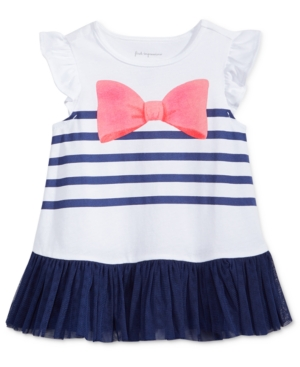 First Impressions Bow Tulle Tunic Baby Girls (024 months) Created for Macys