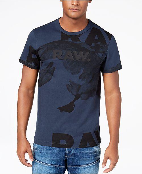 G Star Raw Men's Goose Graphic Print T Shirt & Reviews T
