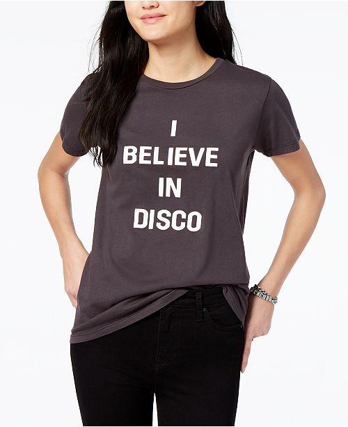 Disco Cotton Graphic T-Shirt
