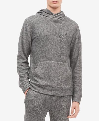 Calvin Klein Jeans Men's Brushed Cozy Crossover Hoodie