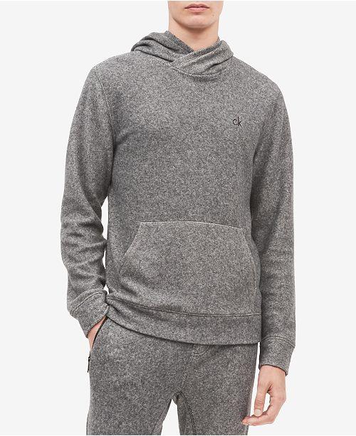 Men's Brushed Cozy Crossover Hoodie