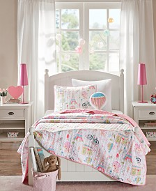 Mi Zone Kids Bonjour 3-Pc. Twin Coverlet Set
