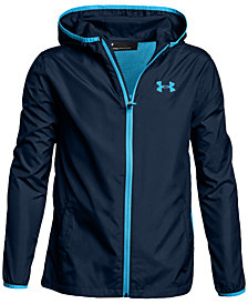Under Armour Sack Pack Hooded Jacket, Big Boys