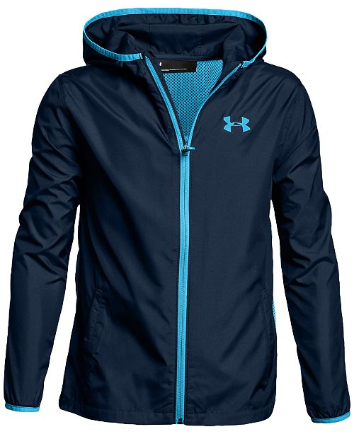 483c243fe Under Armour Sack Pack Hooded Jacket, Big Boys & Reviews - Coats ...