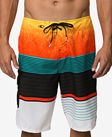 "O'Neill Men's Lennox Striped 21"" Board Shorts"