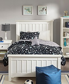 Starry Night 4-Pc. Reversible Coverlet Sets