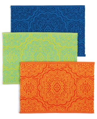 Global Geo Rib Turquoise Placemat