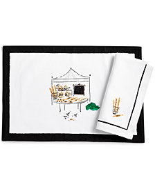 kate spade new york To Market Placemat Bread Stand