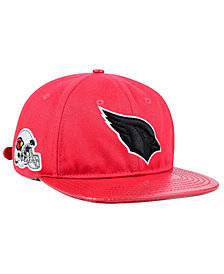 Pro Standard Arizona Cardinals Team Color Black Strapback Cap