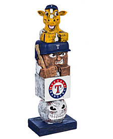 Evergreen Enterprises Texas Rangers Tiki Totem