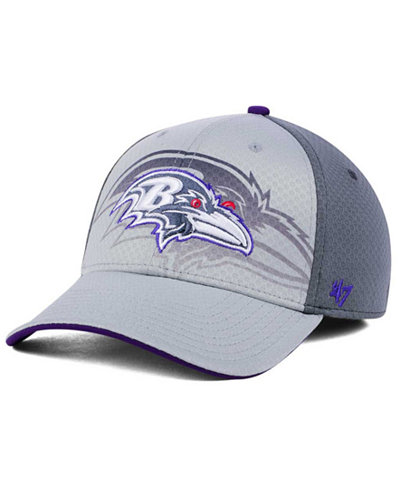 '47 Brand Baltimore Ravens Greyscale Contender Flex Cap