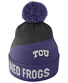 Nike TCU Horned Frogs Champ Pom Knit Hat