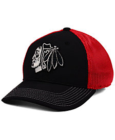 adidas Chicago Blackhawks Cage Flex Cap