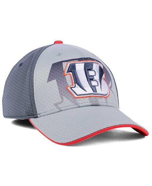 best website 55066 0ef47 ... top quality 47 brand cincinnati bengals greyscale contender flex cap  sports fan shop by lids men