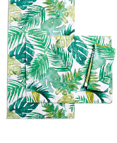 The Cellar Tropicalia Table Linens, Created for Macy's