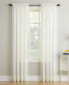 "Lichtenberg No. 918 Crushed Sheer Voile 51"" x 63"" Window Panel"