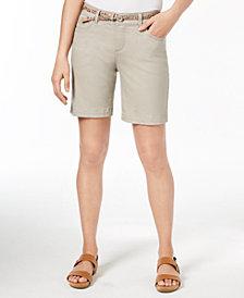 Lee Platinum Bradbury Belted Shorts