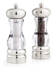 Martha Stewart Collection Del Norte Salt Shaker & Pepper Mill, Created for Macy's