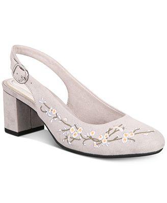 Easy Street Dainty Women's ... Slingback High Heels