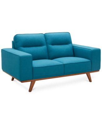 """CLOSEOUT! Favianna 66"""" Fabric Loveseat, Created for Macy's"""