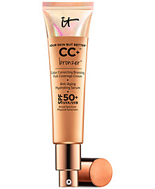 IT Cosmetics Your Skin But Better CC+ Bronzer SPF 50+, 1.08 fl. oz.