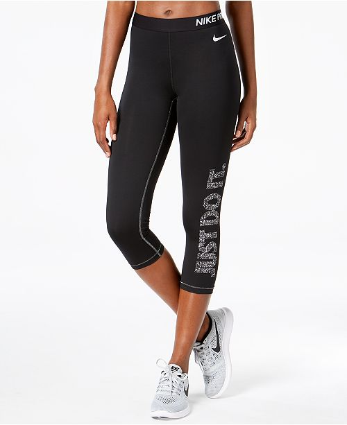 d719a3cef6 Nike Pro Dri-FIT Capri Leggings - Pants   Capris - Women - Macy s
