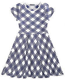 My Michelle Lattice Sweater Dress, Big Girls