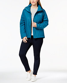 Columbia Plus Size Gotcha Groovin Water-Resistant Jacket