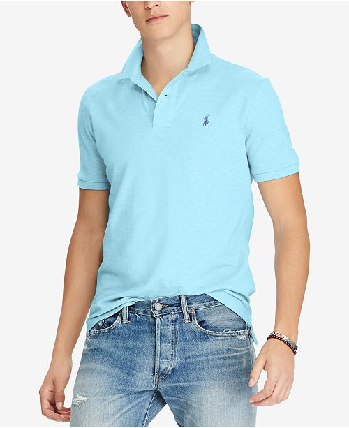03b0ea0cc0f66 Polo Ralph Lauren Men s Classic-Fit Mesh Polo - Polos - Men - Macy s