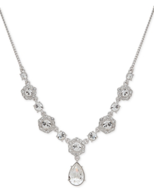 1920s Jewelry Styles History Givenchy Crystal Lariat Necklace $68.00 AT vintagedancer.com