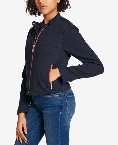 Tommy Hilfiger Quilted Zip-Pocket Jacket, Created for Macy's
