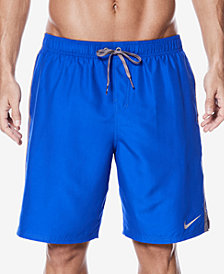 Nike Men's Big & Tall Diverge Colorblocked 9'' Swim Trunks
