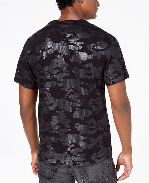 239c0249 True Religion Men's Buddha Tonal Camouflage Logo-Print T-Shirt ...