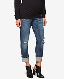 Motherhood Maternity Cropped Jeans