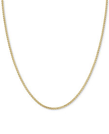 "18"" Nonna Link Chain Collar Necklace (2-9/10mm) in 14k Gold"