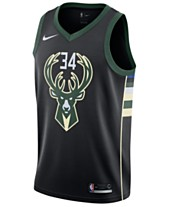 2a6987fc52d7 Nike Men s Giannis Antetokounmpo Milwaukee Bucks Statement Swingman Jersey