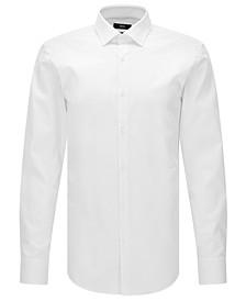 BOSS Men's Slim-Fit Easy-Iron Cotton Dress Shirt