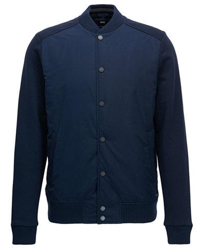 BOSS Men's Skiles Varsity Jacket