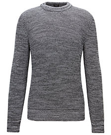 BOSS Men's Knit Cotton Sweater