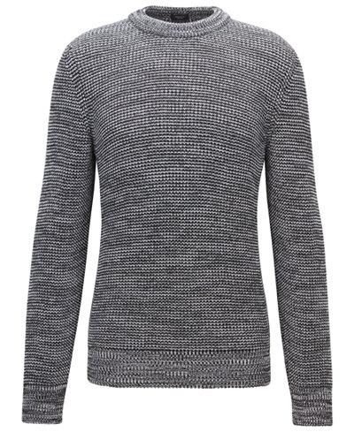 BOSS Men's Knit Cotton Sweater