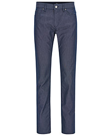 BOSS Men's Regular/Classic-Fit Basketweave Stretch Pants